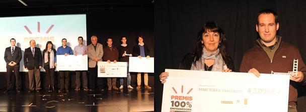 Premis 100% emprenedors 2013